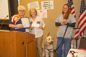TVWC Pam and Canine assistants